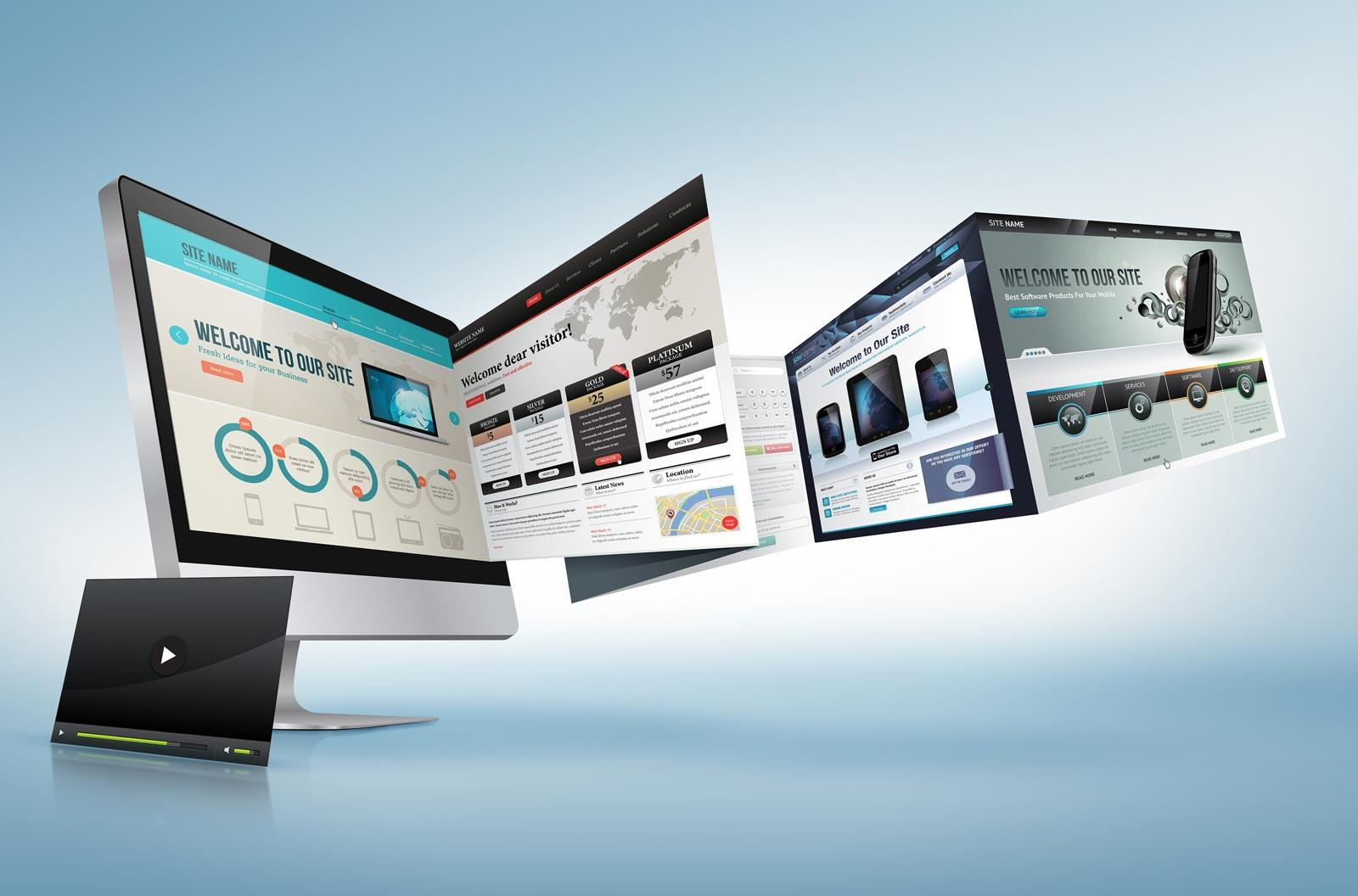 Website design company Greece Professional web design with serious results