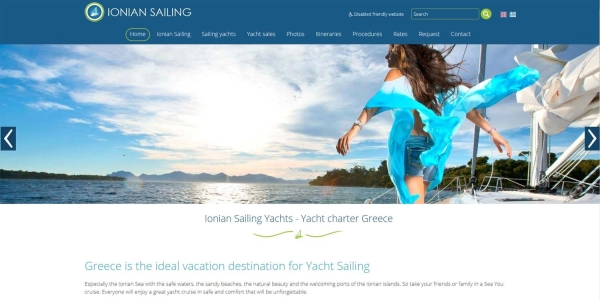 Ionian Sailing - Marine websites