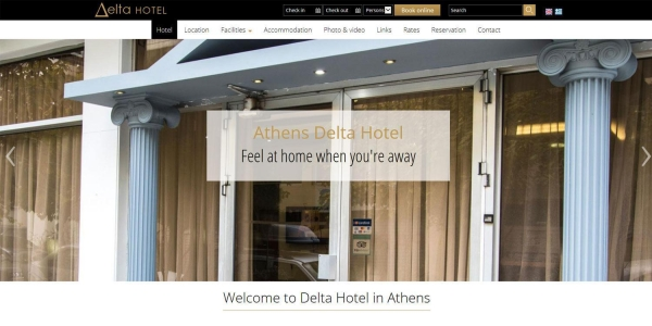 Hotel Delta - Touristische Websites