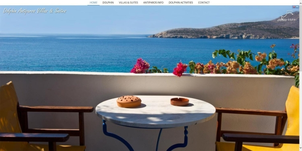 Dolphin Antiparos Villas - Touristische Websites