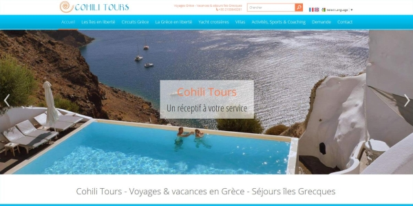 Cohili Tours - Touristische Websites