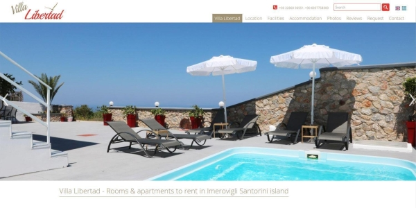 Villa Libertad - Touristische Websites