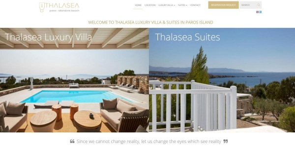 Thalasea Resort - Touristische Websites